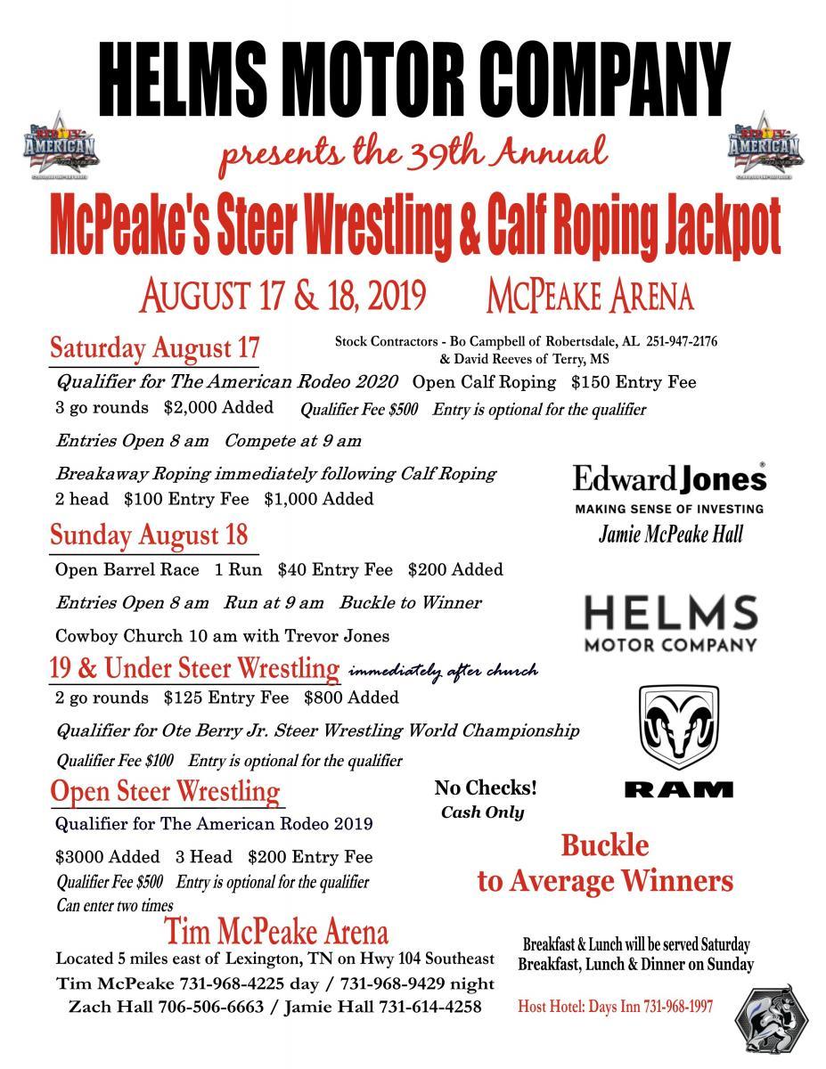 McPeake flyer